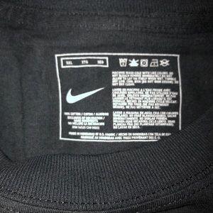 Nike Shirts - Men's black Nike tee with red writing - Size XXXL